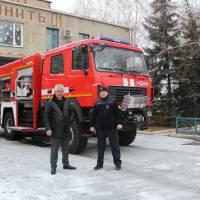 Нова пожежна машина для Великоновосілківського РВ ДСНС2