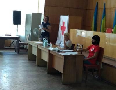 21 липня заступник голови районної ради Наталія Сабліна прийняла участь у звітно-виборній конференції Бобринецької районної організації Товариства Червоного Хреста України