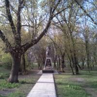 Братська могила загиблих воїнів у роки Великої Вітчизняної Війни