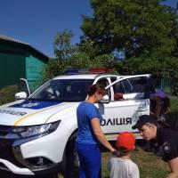 До маленьких казкарів завітала патрульна поліція (25.05.2018)