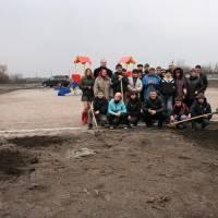 Відкриття парку у с.Новослобідка