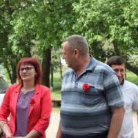 Святкування Дня Перемоги у Високогірному (08.05.2018)