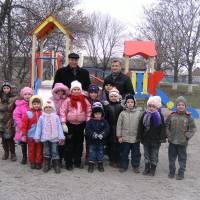 Відкриття дитячого майданчика в с.Нове Запоріжжя