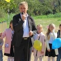 Відкриття дитячого майданчика с. Сопошин