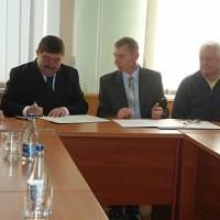 Підписання угоду  про співпрацю 1