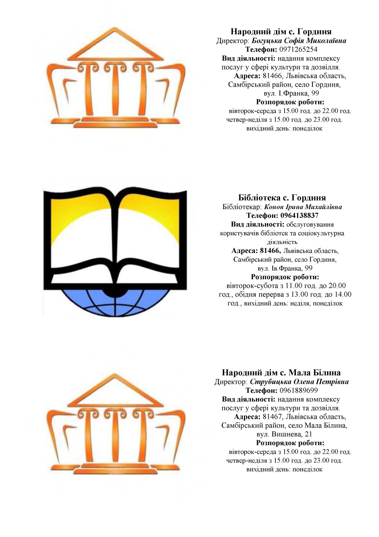 zaklady kultury Novokalynivskoi TH 4