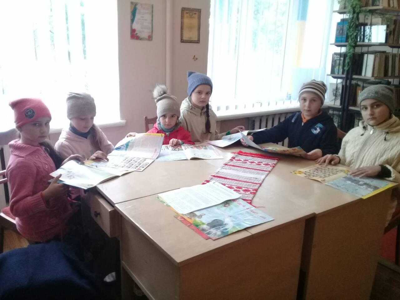 U bibliotetsi sela Mala Bilyna Novokalynivskoi OTH vidznachyly Vsesvitnii den dobroty