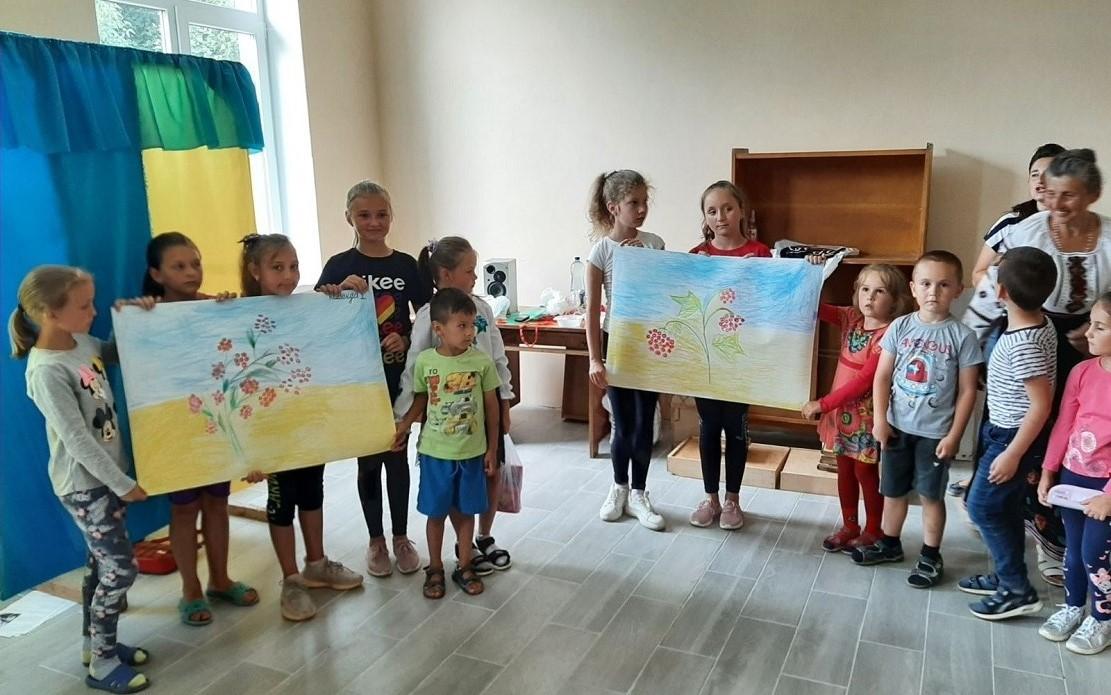 """KONKURS MALIuNKIV """"ShchO DLIa MENE UKRAINA"""" Velyka Ozymyna Novokalynivskoi TH"""