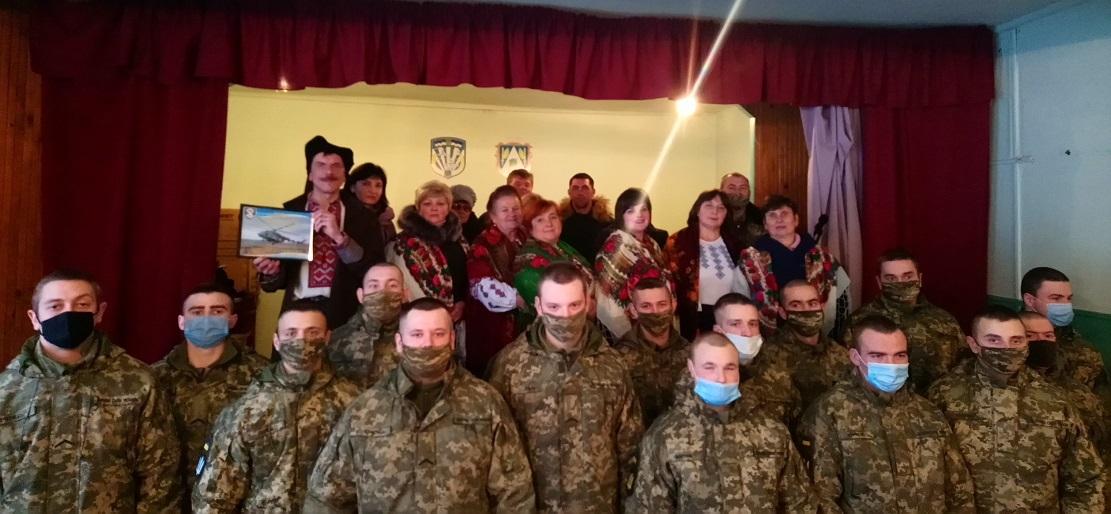 KOLIaDKY, ShchEDRIVKY DLIa VOINIV-AVIATORIV  Novoho Kalynova