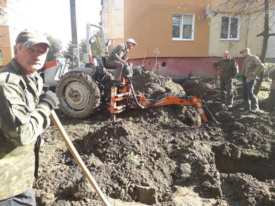 Remont vodopostachannia Novyi Kalyniv 16.10.2019