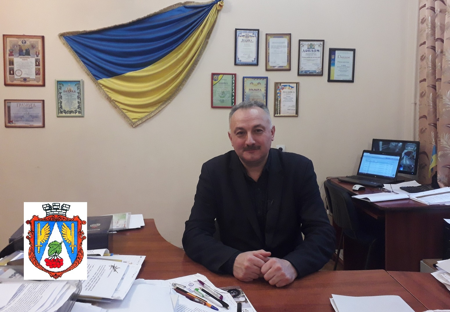 Bohdan Yuzviak miskyi holova misto Novyi Kalyniv