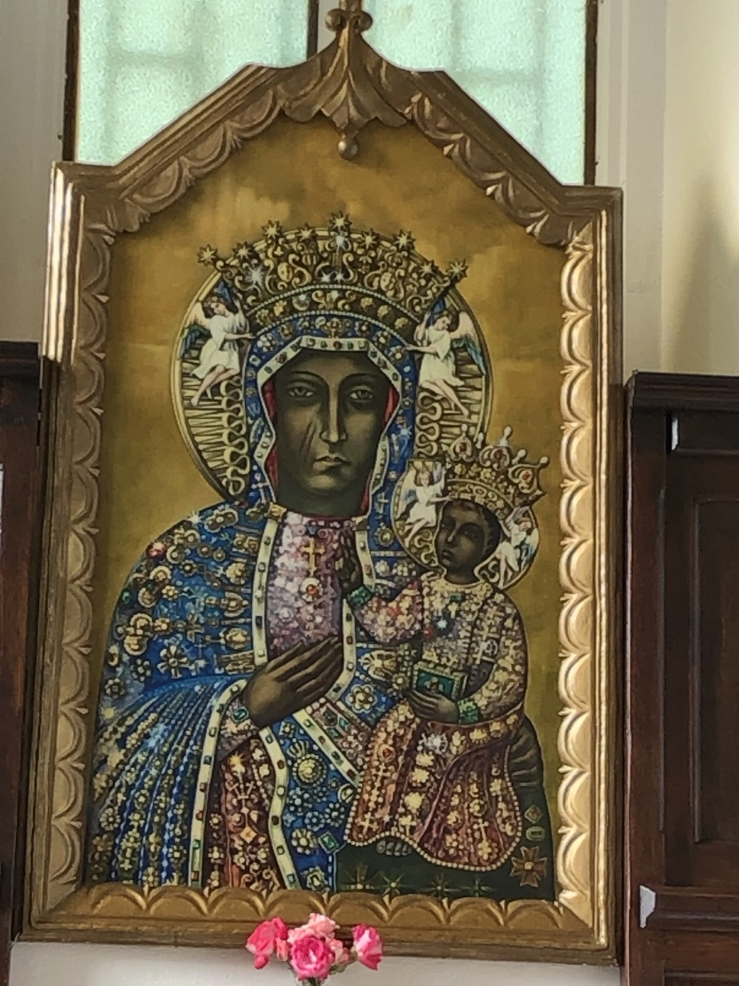 kostel Materi Bozhoi Chenstokhovskoi s. Kornalovychi Edvard Kava Bohdan Yuzviak