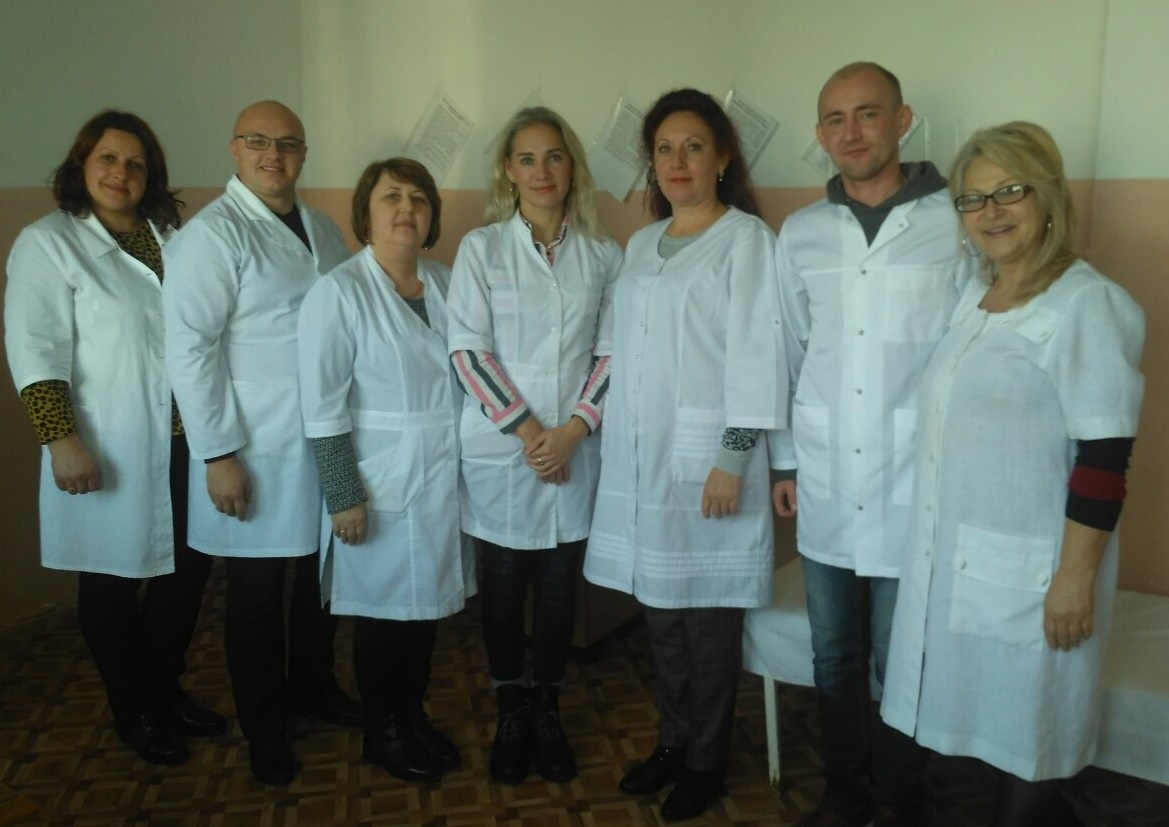 Vyiznyi pryiom medykiv v s. Kruzhyky Novokalynivskoi OTH 27.11.2019 roku