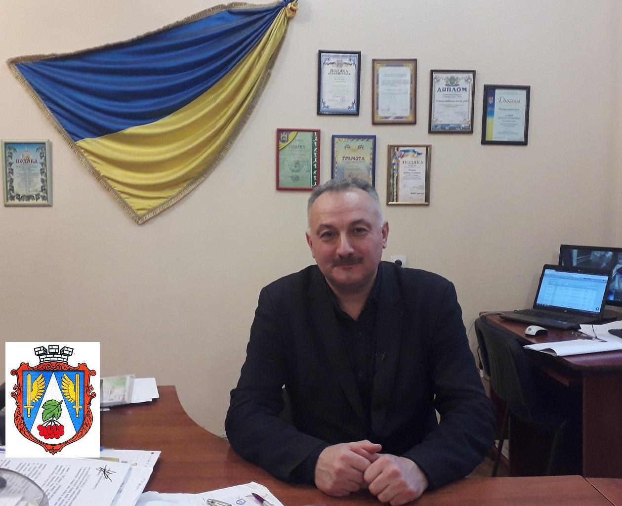 Bohdan Yuzviak miskyi holova misto Novyi Kalyniv 2020 rik