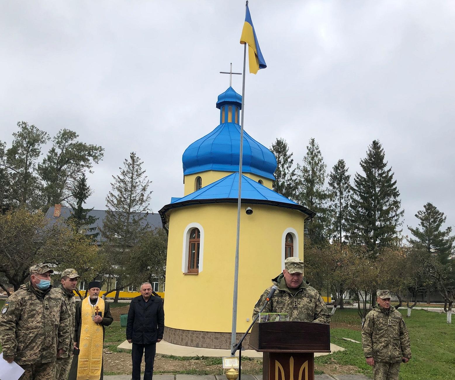 U MISTI NOVYI KALYNIV PROIShLY UROChYSTOSTI Z NAHODY DNIa ZAKhYSNYKIV TA ZAKhYSNYTs UKRAINY