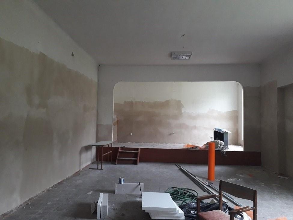 Kapitalnyi remont Narodnoho domu v s. Kornalovychi Sambirskoho raionu Lvivskoi oblasti