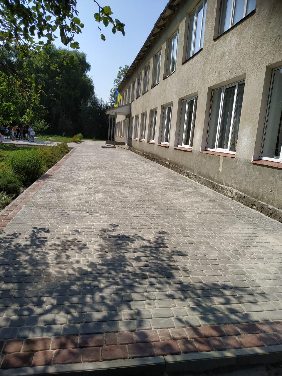 Blahoustrii shkilnoho podviria Hordynianskoi SZSh I-II st.