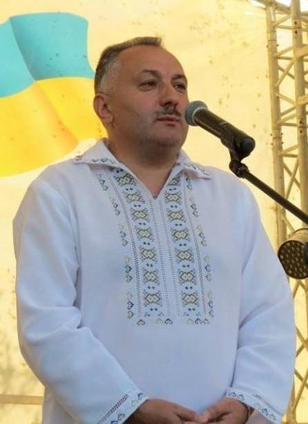 Bohdan Yuzviak, holova Novokalynivskoi OTH_2020