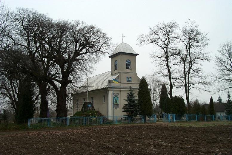 Tserkva svyatoho Arkhystratyha Mykhayila selo Kalyniv.jpg