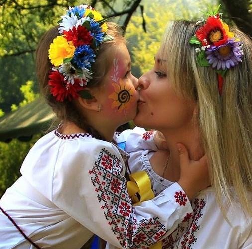 Vitannia miskoho holovy  Bohdana Yuzviaka z Dnem Materi