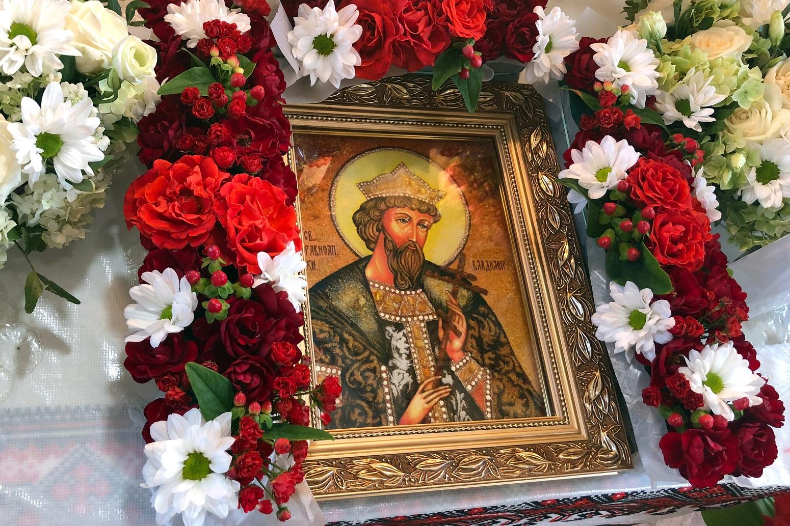 Khramove sviato parafii Sviatoho kniazia Volodymyra Velykoho PTsU u m. Novyi Kalyniv