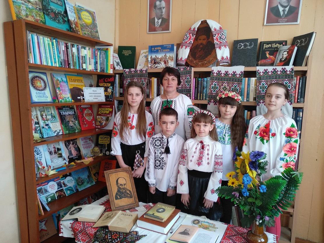 LITERATURNA HODYNA VShANUIMO PAMIaT KOBZARIa Novokalynivska TH Kruzhyky