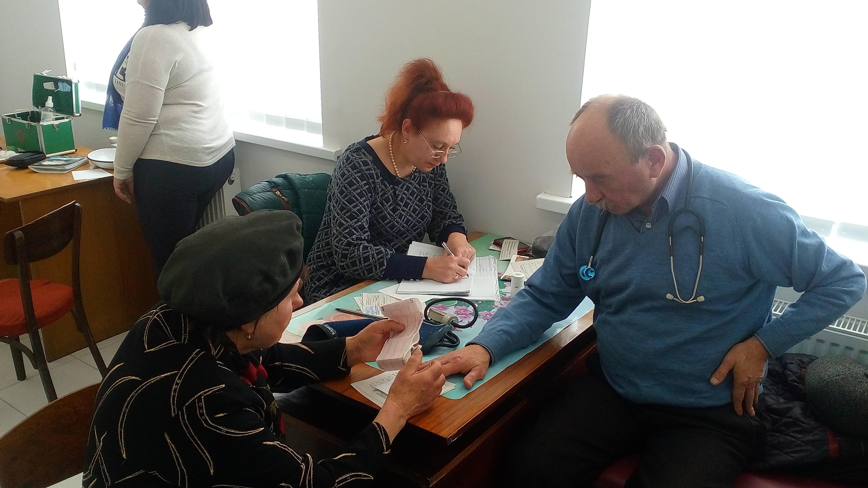 Pro svoie zdorovia potribno dbaty zavzhdy FAP s. Velyka Bilyna