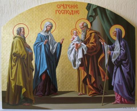 Vitannia miskoho holovy Bohdana Yuzviaka iz Sviatom Stritennia Hospodnoho
