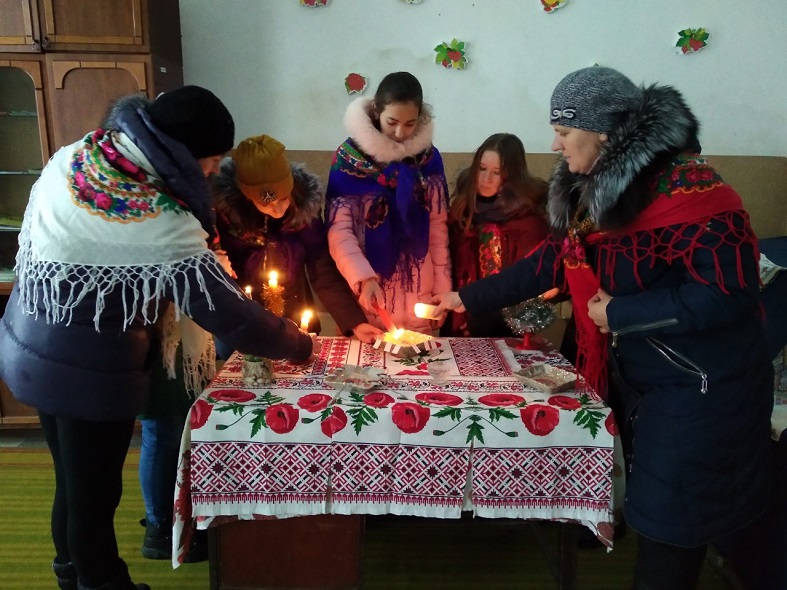 Novokalynivska OTH , kultura, s. Kornalovychi