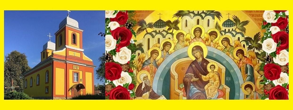 VITANNIa BOHDANA YuZVIaKA Z KhRAMOVYM PRAZNYKOM PARAFIIaLNYM HROMADAM MISTKOVYChI
