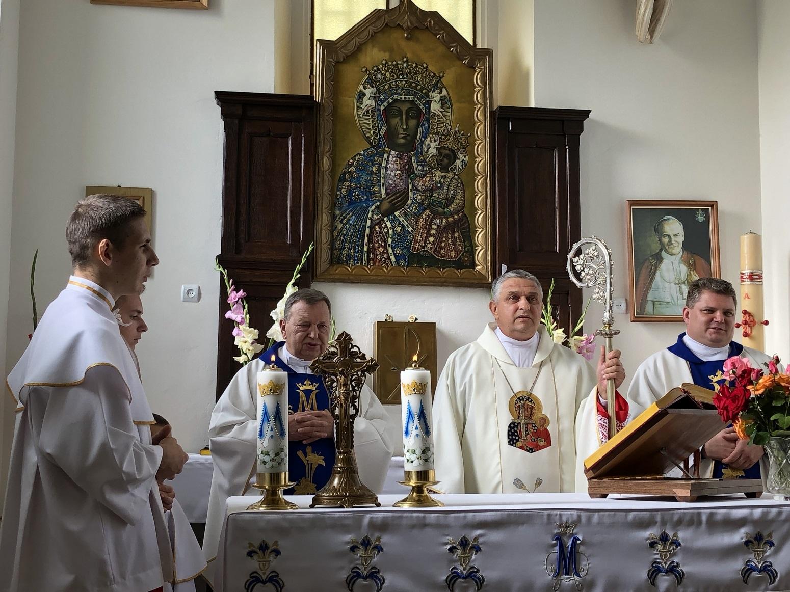 kostel Materi Bozhoi Chenstokhovskoi s. Kornalovychi