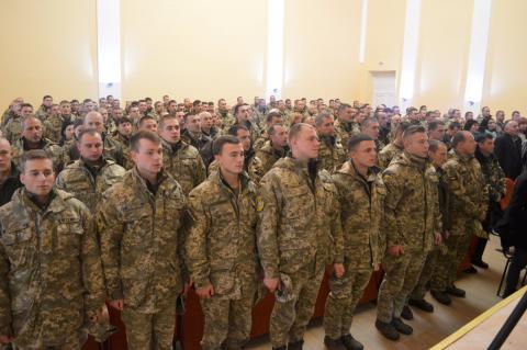 Sviatkuvannia Dnia Zakhysnyka Ukrainy v m. Novyi Kalyniv
