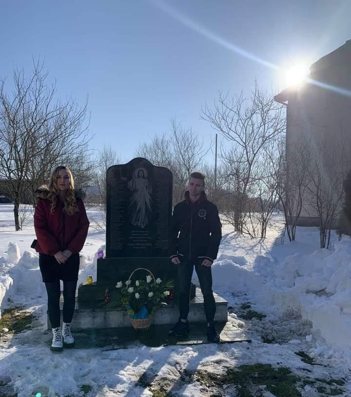 Mistkovychi Novokalynivskoi OTH zakhid do Dnia pamiati Nebesnoi Sotni 20.02.2021