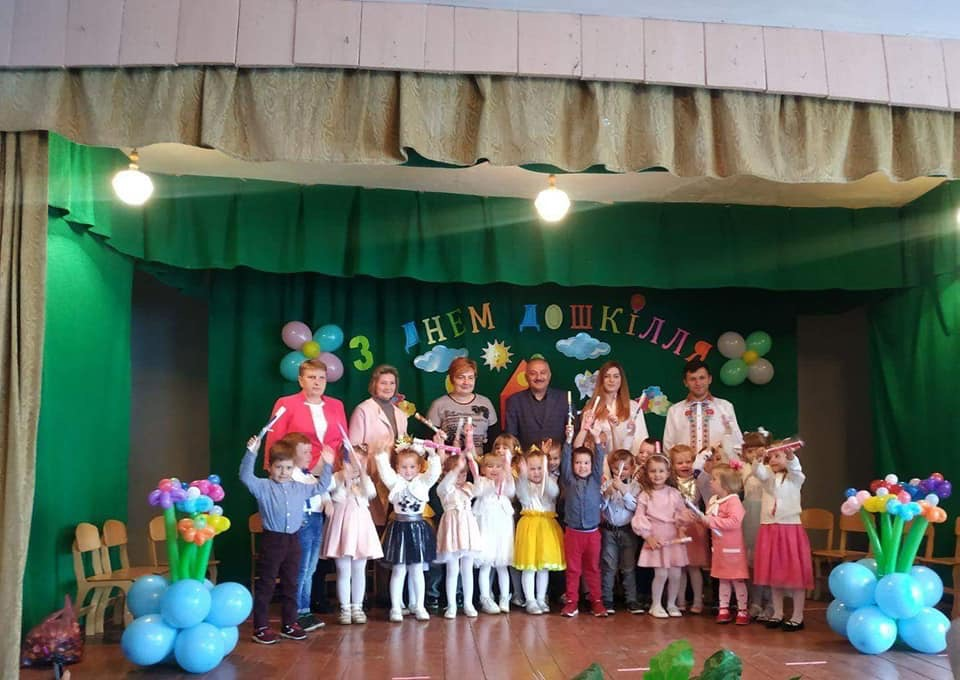 Den doshkillia Novokalynivska miska rada miskyi holova Bohdan Yuzviak
