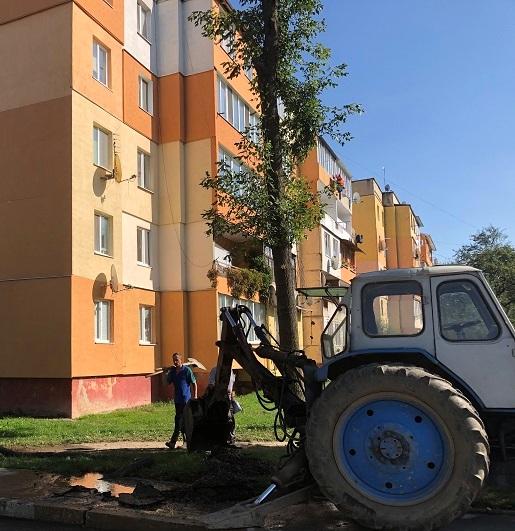 Novyi Kalyniv vodopostachannia remont 06.10.2020