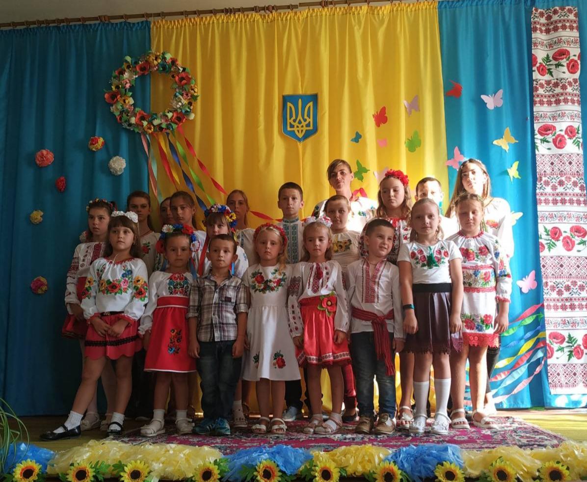 Zakhid prysviachenyi Dniu Nezalezhnosti Ukrainy v seli Kornalovychi