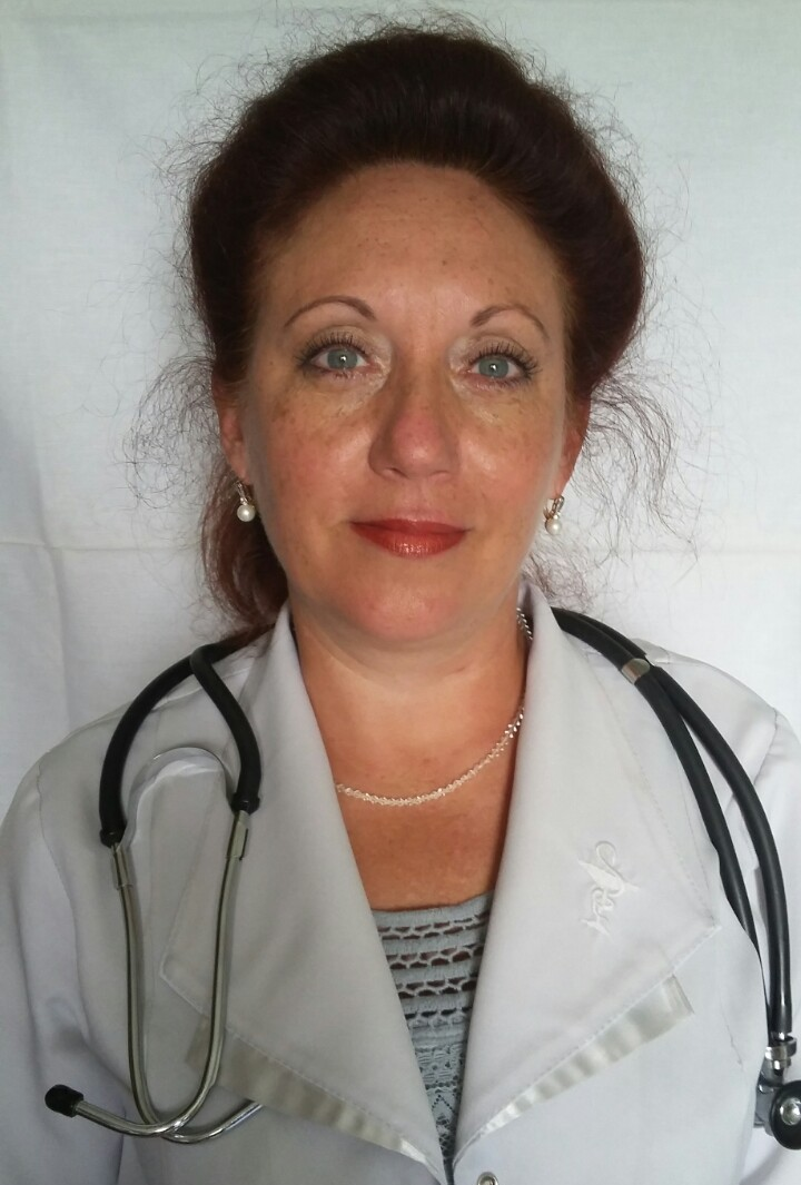 Iryna Tustanovska holovnyi likar KNP Novokalynivskyi MTsPMSD, pediatr