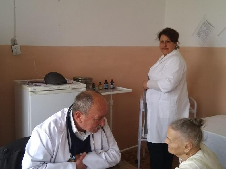 KNP Novokalynivskyi MTsPMSD s. Kruzhyky medychnyi ohliad