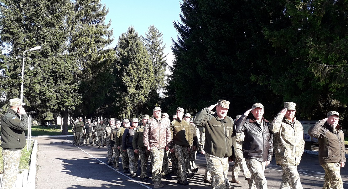 Sviatkuvannia Dnia zakhysnyka Ukrainy m. Novyi Kalyniv 2019