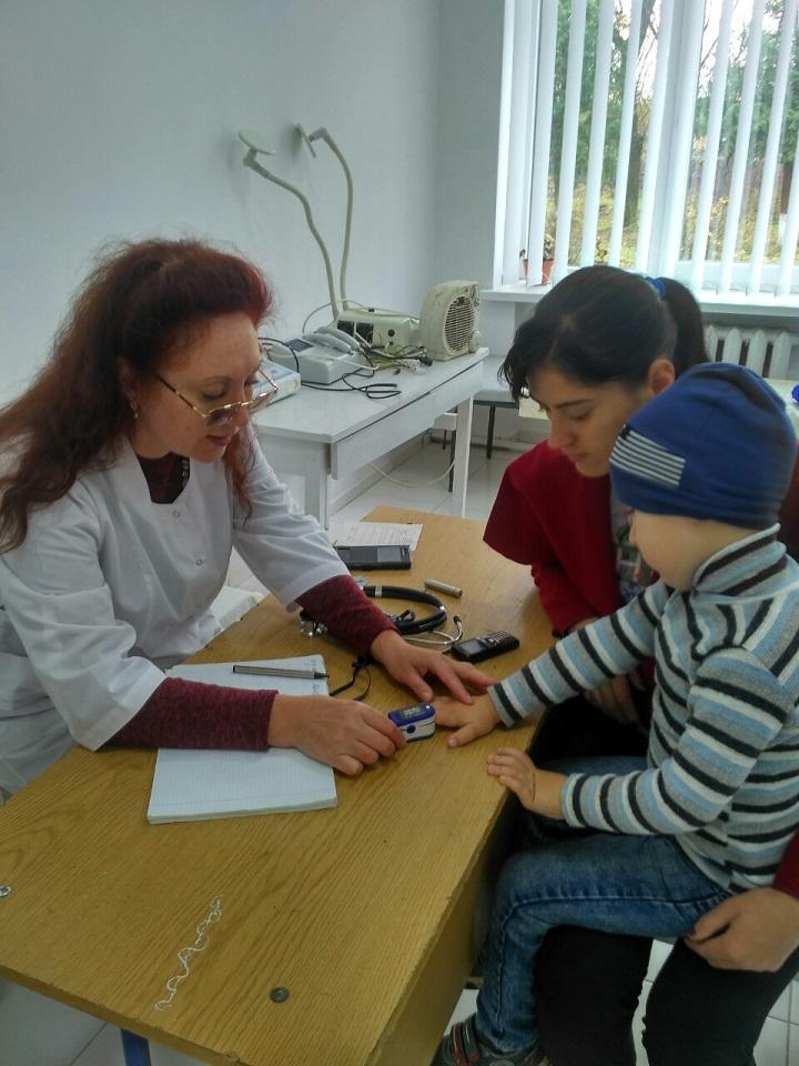vyizdy medychnoi bryhady KNP Novokalynivskyi MTsPMSD na FAP s. Mala Bilyna 13.11.2019 roku 1