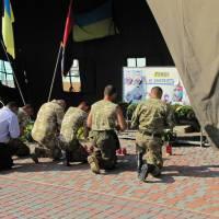 Вшанування воїнів АТО