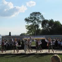 Урочистий концерт на стадіоні смт. Підволочиськ