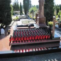 Обласна акція Запали свічку на могилі Героя