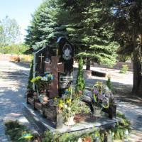 могила Біленького Тараса у смт. Підволочиськ