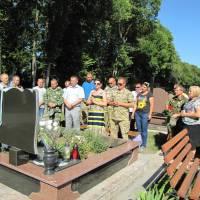 могила Черніченко Олександра у м. Волочиськ