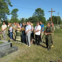 могила Крука Володимира у с. Пальчинці