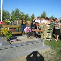 могила Дячука Івана у с. Голотки