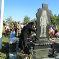 могила Чеславського Володимира у с. Голотки