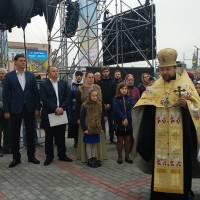 Центральна площа молебень за Кілію
