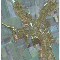 Схема населеного пункту з існуючими та проектними межами